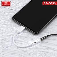 Earldom Jack Chuyển Đổi Âm Thanh Tai Nghe ET-OT49 Ligning 3.5 mm Cho Iphone - Hàng Chính Hãng