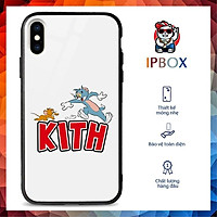Ốp Iphone 7 Plus In Hình KITH Tom N Jerry IPBOX Iphone 6/6Plus/6S/6SPlus/7/7Plus/8/8Plus/X/Xs/XsMax/11Promax