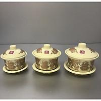 combo 3 chiếc bát nước thờ bằng sứ  TP9883