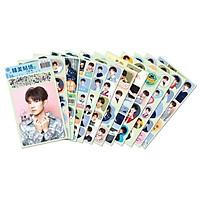 Hình dán 12 tấm Vương Nguyên idol TFBOYS KPOP