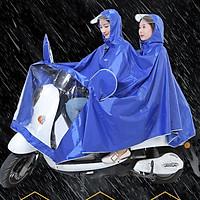 Áo mưa đôi cao cấp 2019 ( Màu ngẫu nhiên )
