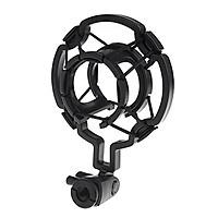 Condenser Microphone Mic Sound Studio Recording Dynamic Shock Mount Stand Black