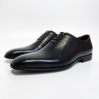 Homme Dallington -  Classic Oxford Italian Leather Patina Shoes