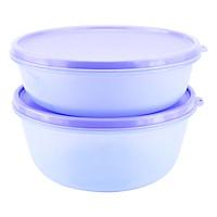 Bộ 2 Tô Tròn Bảo Quản Thực Phẩm Tupperware Modul-Bowl 2 Violet
