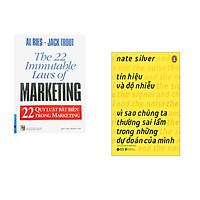 Combo 2 cuốn sách: 22 Qui Luật Bất Biến Trong Marketing + Tín Hiệu Và Độ Nhiễu