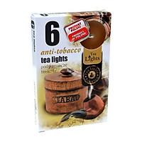Hộp 6 nến thơm Tea lights Admit Anti tobacco ADM1409 (Hương hổ phách)