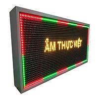 Biển quảng cáo màn hình LED thông minh HIKARU 3 màu, Đỏ Vàng Xanh, một mặt hiển thị, KT cao 360x rộng 680