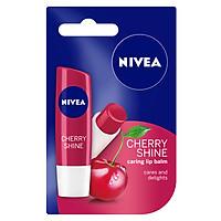 Son Dưỡng Ẩm Môi Hương Cherry Shine Nivea 85077 (4.8g)