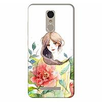 Ốp Lưng Dành Cho Điện Thoại Xiaomi Note 3 - Cô Gái Hoa Hồng