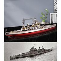 Mô hình thép 3D tự ráp tàu chiến HMS Prince of Wales