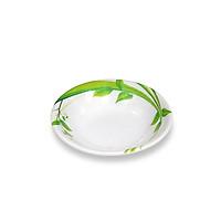 Bộ 10 dĩa (đĩa) chấm lớn An Toàn Sức Khỏe Nhựa Xanh melamine A101