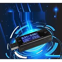 USB đo điện áp và dòng sạc điện thoại nhanh (NHỎ GỌN, CHÍNH XÁC, ĐỘ BỀN CAO, DỄ DÀNG SỬ DỤNG)- (Tặng quạt nhựa mini cắm cổng USB- màu ngẫu nhiên)