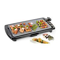 Vỉ Nướng Điện Vân Đá Chống Dính Happy Cook HGR-5295M - Hàng chính hãng