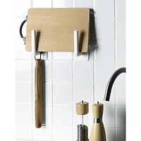 Bộ 2 móc treo thớt, nắp nồi, khăn giấy siêu tiện lợi, móc treo vật dụng gia đình, phòng tắm GD427-TreoThot (giao màu ngẫu nhiên)