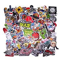 Set 100 Sticker - Skate Board