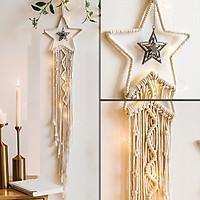 Dreamcatcher ngôi sao may mắn tặng kèm móc dán tường
