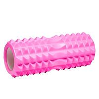 BG Con Lăn Massage Ống Lăn Dãn Cơ Foam Roller Tập Gym, Yoga, Thể Hình (hàng nhập khẩu) PINK