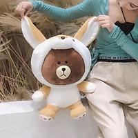 Túi Sưởi Ấm Lưng Họa Tiết Gấu nâu coslay Đa Năng (1 Sản Phẩm)- Dùng Điện  - Màu Trắng - Mẫu TSC0270