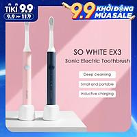 Xiaomi Mijia SO WHITE PINJING EX3 1pc Sonic Bàn chải đánh răng điện không thấm nước có thể sạc lại cho Bàn chải đánh răng tự động siêu âm