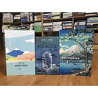 Combo văn học kinh điển Nhật Bản: Tuyển tập Mori Ogai + Akutagawa I + Thất lạc cõi người (tặng kèm bookmark)