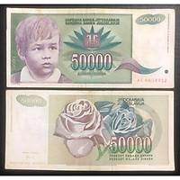 Tiền Nam Tư 50000 dinara, quốc gia không còn tồn tại