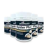 Combo 5 Hộp Tinh Chất Hàu Goodhealth Oyster Plus 60 Viên - Giúp Tăng Cường Sinh Lý - Cải Thiện Chất Lượng Tinh Trùng - Hàng Chính Hãng New Zealand