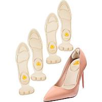 2 cặp miếng lót giày cao gót mũi tròn cho giày bị rộng, giúp giảm size cao cấp - buybox - BBPK11