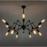 Đèn chùm - đèn trang trí chân nhện 12 tay kiểu dáng độc đáo
