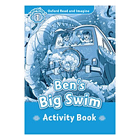 Oxford Read And Imagine Level 1: Ben's Big Swim (Activity Book)