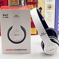 Tai Nghe Chụp Tai Bluetooth P47 - Có Khe Cắm Thẻ Nhớ - Âm Thanh Đỉnh Cao