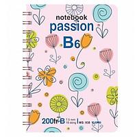 Sổ Lò Xo Kép 200 trang B6 Kìa Cứng KLong-MS938
