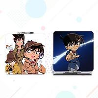Gương VUÔNG Conan gương bỏ túi anime chibi cầm tay 2 mặt dễ thương tiện lợi quà tặng độc đáo
