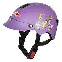 Mũ Bảo Hiểm Trẻ Em Andes 3S108S Tem Nhám S95