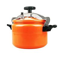 Nồi áp suất đun ga đáy từ Fujika dung tích từ 3Lit đến 11 lít, màu cam, sử dụng được trên bếp từ-Hàng chính hãng - 11Lit