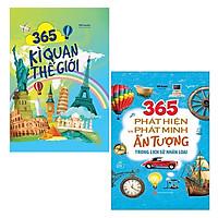 Bộ Sách 365 Kì Quan Thế Giới + 365 Phát Hiện Và Phát Minh Ấn Tượng Trong Lịch Sử Nhân Loại (Bộ 2 Cuốn)
