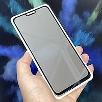 Kính cường lực cho Xiaomi Mi 8 Lite chống nhìn trộm full viền đen