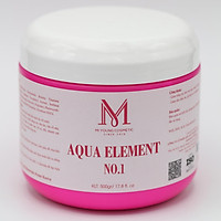 Kem Dưỡng Trắng Da Phân Tử Nước Mi Young Aqua Element No.1 - 500gr