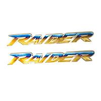 Tem xe máy chữ nỗi Titan Raider