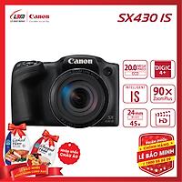 Máy ảnh Canon PowerShot SX430 IS - Hàng Chính Hãng Lê Bảo Minh + KM 1 hộp thịt Nhập Khẩu Chopped Ham 325gram - Tặng kèm 1 hộp thịt Chopped Ham
