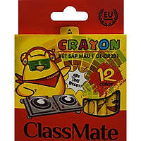 Bút Sáp Màu Classmate CR201 - 12 Màu