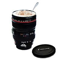 Fashion Caniam SLR Camera Lens 24-105 mm 1: 1 scale Plastic coffee Creative lens cup