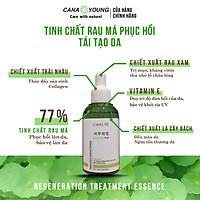 Tinh chất rau má làm dịu da, phục hồi và mờ vết thâm Cana LAB Centella Good bye RED Regeneration Treatment Essence