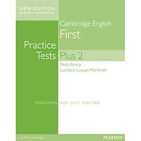 Cambridge First Practice Tests Plus New Edition Students' Book with Key
