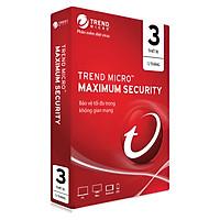 Phần Mềm Diệt Virus Trend Micro Maximum Security - 3PC 12 tháng - Hàng chính hãng