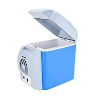 12V Car Refrigerator 7.5L Mini Portable Car Fridge & Warmer for Road Trip Travel Camping Fishing