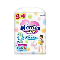 Tã/bỉm quần Merries L-44+6( dành cho trẻ từ 9-14Kg)