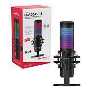 Microphone Kingston HyperX QuadCast S RGB - Hàng Chính Hãng