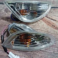 Bộ 2 xi nhan SAU dành cho xe vespa LX kèm bóng đèn (1 ĐÔI) - TB1345