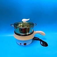 Ca nấu mì , nấu lẩu mini đa năng có lồng hấp