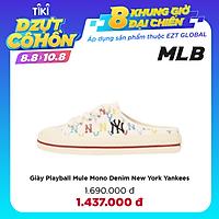 Giày Playball Mule Mono Denim New York Yankees